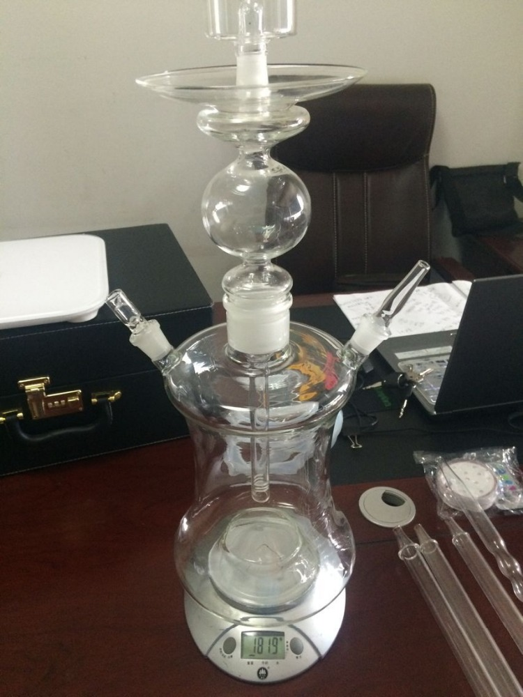 Large and small size Clear hookah glass crystal with wholesale price