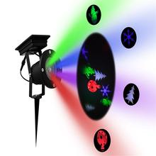 2018 Outdoor Christmas Laser Projector Sky Laser Garden Waterproof Spotlight Landscape Lawn Light