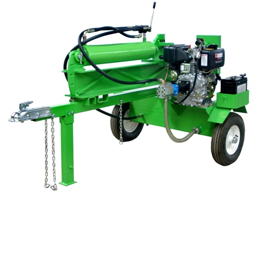 hydraulic log splitter wood cutter with cylinder