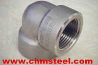 Wp304 Casting Male/Female Thread Bsp 90 Deg Stainless Steel Elbow