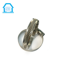 150-170mm Non Perforated 9mm Bandwidth German Type Stainless Steel Hose Clamps