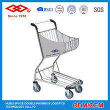 Promotional hand push shopping trolley cart