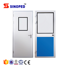 CE Clean Room Airtight Door Fire Proof Stainless Steel Entrance Door