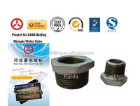 Malleable cast Iron pipe fitting Galvanized bushing,banded pipe fitting bushing