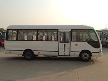 32 seats(26+6) Coaster type mini bus with Cummings engine