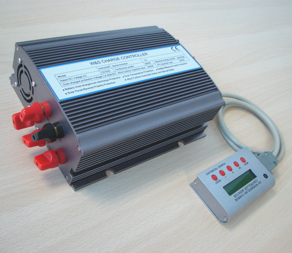 Adjustable solar wind hybrid charge controller,high quality with CE solar pmw controller