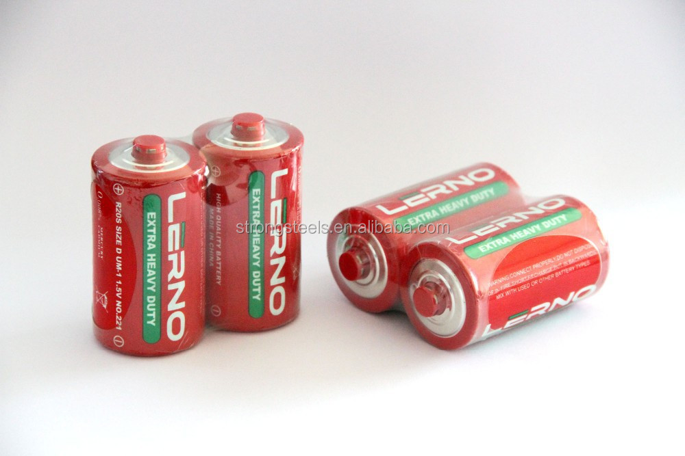 Shandong Video game player 1.5V Zn/MnO2 dry cell battery