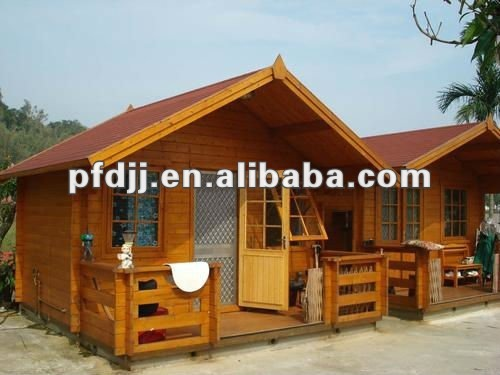 durable waterproof comfortable prefabricated wooden house