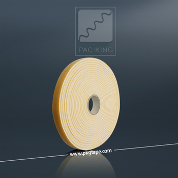 2 sided solvent acrylic self adhesive PU foam tape