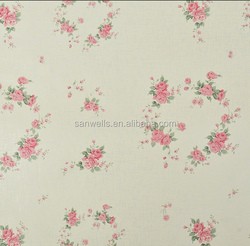 decorative thick pvc self adhesive deep embossed wallpaper china