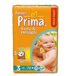 PRIMA SLEEP AND PLAY BABY DIAPER MEGA PACK 3 NO