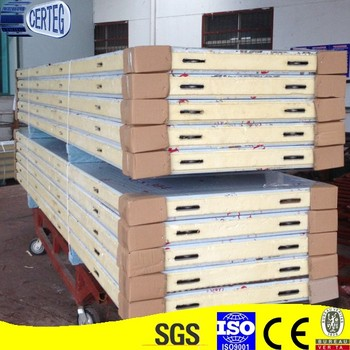 factory price pu polyurethane sandwich panel
