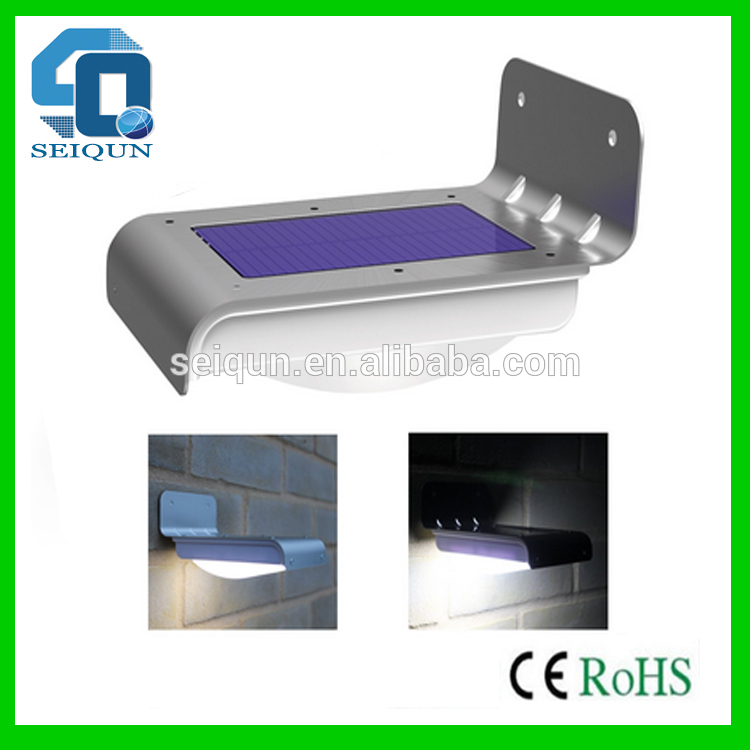 Mur ext rieur led solaire lampe led solaire propuls for Lampe chauffante exterieur