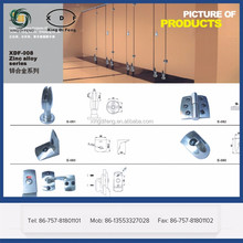 Adjustable Support leg for Toilet Cubicle Partition