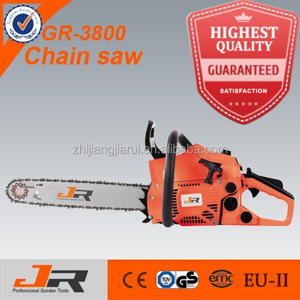 2015 hot sale petrol chain saw