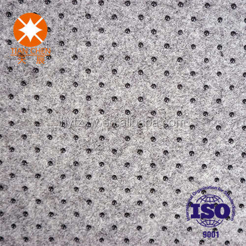 Cheap 100% polyester needle punched nonwoven microfiber fabric