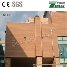 Cheap Not deformed laminated wpc outdoor decking wpc wall panel/clabbing/ board