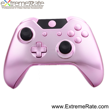 Chrome pink controller shell case for Xbox One housing
