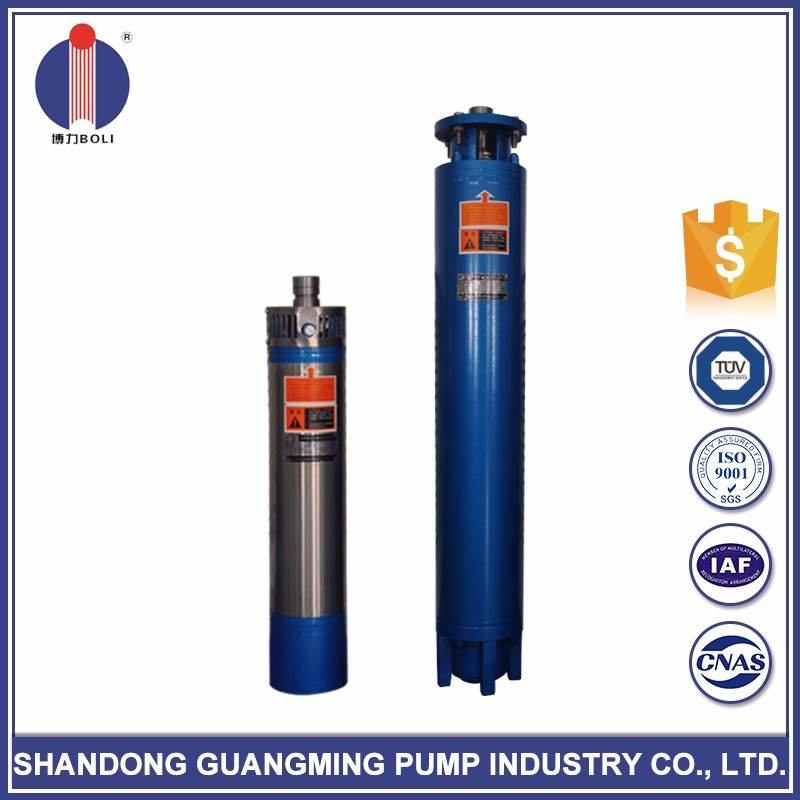 High precision 1.5 hp jd submersible water pump