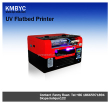On sale mini a3 uv flatbed printer without coating