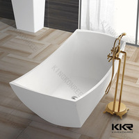 home used durable two person freestanding bathtub