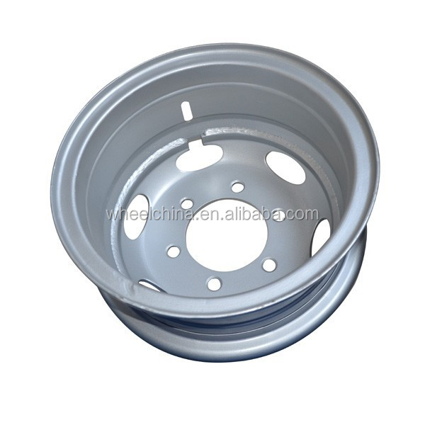 6.00G-16 steel wheel rims for tractor from direct factory