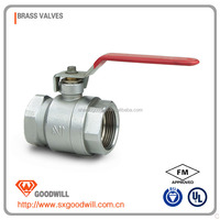 high quatity gear operated ball valve