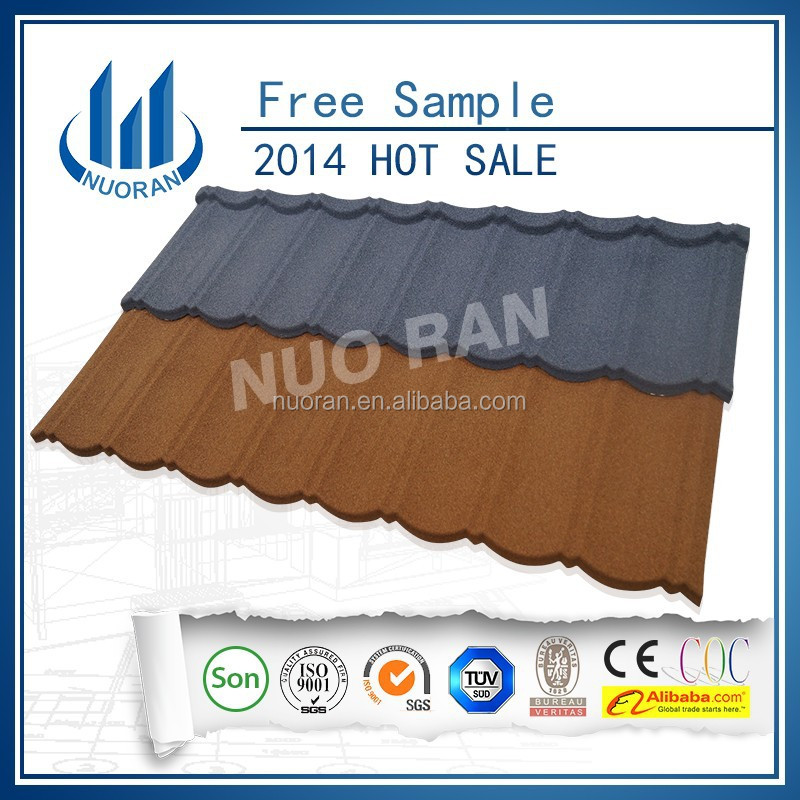 NUORAN Stone Coated Steel Roofing Tile,Building Material Prices in Nigeria