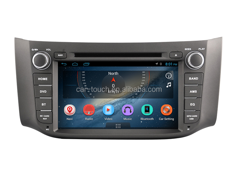 Multimedia car entertainment system ,android 6.0 car dvd player for Nissan Sylphy 2012- 2014