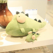 soft really cute cartoon small crocodile with big eyes stuffed animals