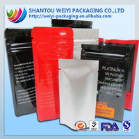Ziplock plastic bag/ LDPE vacumn zipper bag
