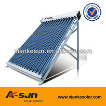 large-scale vacuum tube solar collectors for industrial hot water