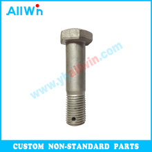 Hardware Fasteners Big Size Hex Head Bolt with Hole