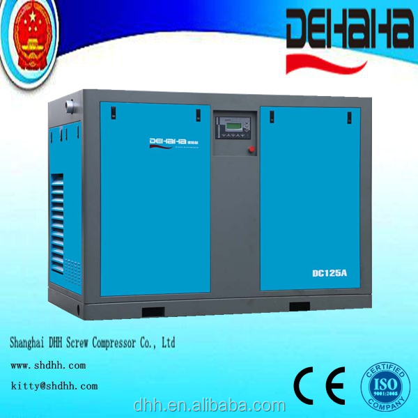China New Product Dirct Driven Electric Screw Air Compressor for Sale