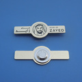 UAE founding father Sheikh Zayed 100th birthday Year Magetic Badge - Gold