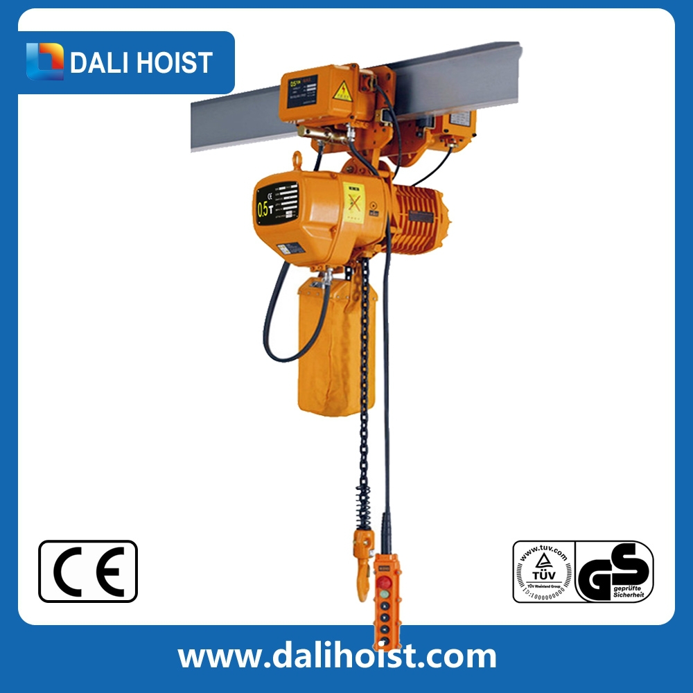 motorized trolley electric chain hoist with competitive price