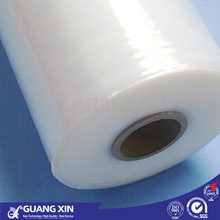 Best price clear hard transparent good adhesive food grade plastic PE stretch shrink cling pallets wrap packing film rolls price