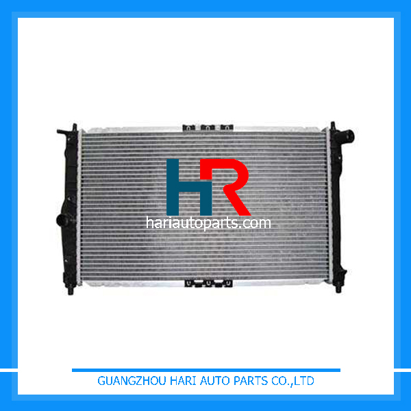 High Performance Aluminum Plastic car radiators for sale For Hyundai DAEWOO LANOS 1.5i 97- ATM
