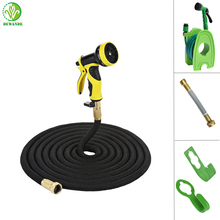 25 feet with three set choice brass fittings car expandable hose