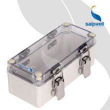 DS-ATS-0818 80*180*70 ABS PC Waterproof Junction Box China Wholesale Box Saip IP65 Saipwell Plastic Boxes with Hinged Lids