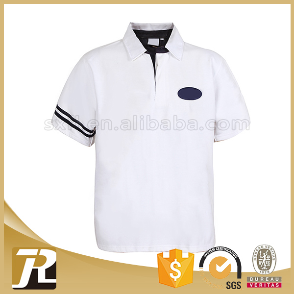 2017 New Design latest design cheap good serve polo shirts polyester