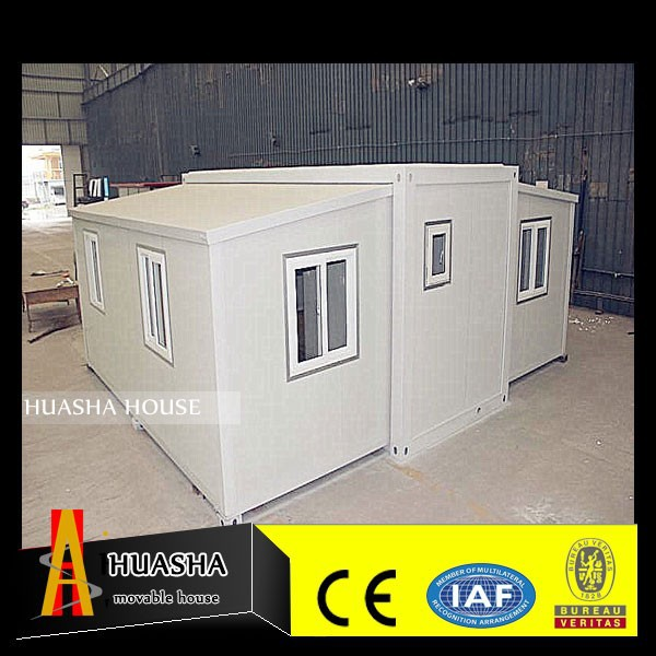 EPS/PU/XPS/Rockwool Sandwich Panel Wall Prefab Container House