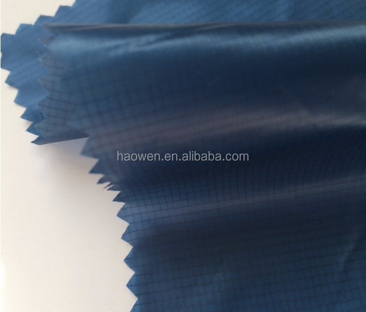 silicone coated10D ripstop nylon parachute fabric for kite