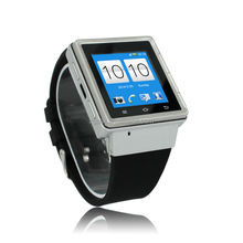 3G Android Watch Phone S6 with MIcro sim card MTK6577 Dual Core 3G android watch phone S6