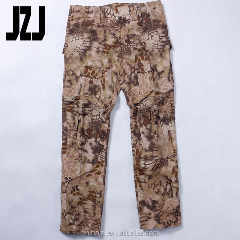 A-TACS FG Combat Tactical Mens 100% cotton summer sweat cargo tactical pants