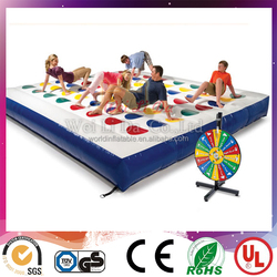 interesting inflatable twister sport games for adults