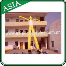 Newest Design Green Inflatable Musical Air Dancer, Air Sky Dancer Man, Inflatable Man For Commecial