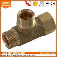 LB-GutenTop copper plumbing compression fittings for Apollo PEX pipe