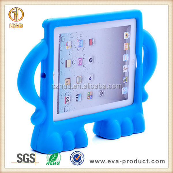 Christmas Gift 3D animal character kids case Children Friendly High Quality Plastic Case for iPad 2 3 4 kids case for ipad