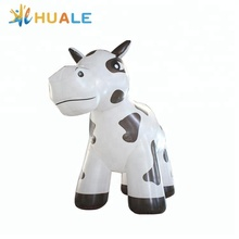 Giant inflatable dairy cattle cartoon advertising inflatable dairy cow